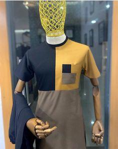 Latest African Men Fashion, African Wear Styles For Men, African Shirts For Men, Nigerian Men Fashion, African Dresses Men, African Attire For Men, African Clothing For Men, Men Fashion Photo, Mega Fashion