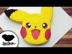Pikachu Cake   Pokemon   How To - YouTube