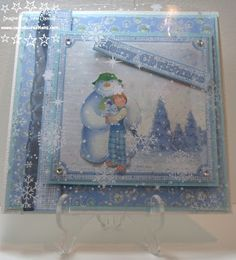 Jane Carroll for Crafter's Companion: The Snowman