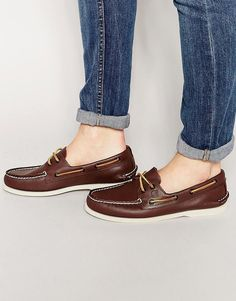 Sperry | Sperry Topsider Leather Boat Shoes at ASOS