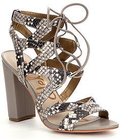Sam Edelman Yardley Ghillie Sandals #Dillards