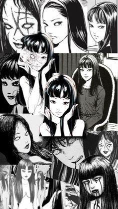 Junji Ito, Manga, Discord, Aesthetic Anime, Art Inspo, Horror, Wallpapers, Shape, Random