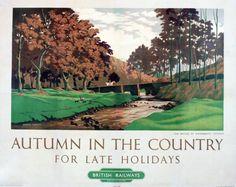 Railway Posters – part 6 British Travel, British Seaside, British Isles, Railway Posters, Travel Posters, Transport Posters, Countryside Village, Kew Gardens, Grand Tour