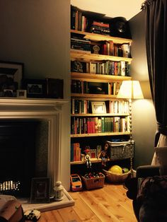Cosy night in with a book