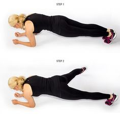 9 Moves To Lose Your Love Handles Lose love handles. Get into plank position. Move right leg in an outward motion repeat on left leg Best Weight Loss, Healthy Weight Loss, Weight Loss Tips, Lose Weight, Reduce Weight, Fitness Diet, Fitness Motivation, Health Fitness, Fitness Expert