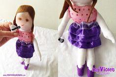 Muñecas My Violet, Muñeca de Violetta :D myvioletdesigns.com