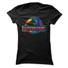 Unicorn Park Rainbow T Shirt