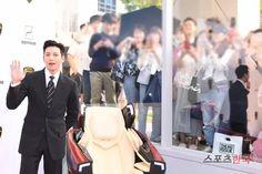Ji Chang Wook Celebrates July Birthday and Attends Lamborghini Event Korean Age, Empress Ki, July 5th, Dong Hae, Ji Chang Wook, 5th Birthday, Korean Actors, Lamborghini, Suit Jacket
