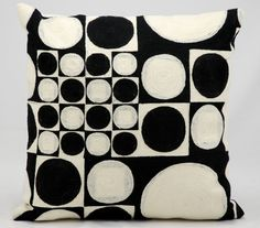 Endless Wool Throw Pillow