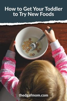 How to get your kid to try new foods. How to help your picky eater try new foods.