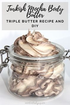 Homemade Body Butter, Whipped Body Butter, Homemade Skin Care, Homemade Beauty Products, Diy Skin Care, Shea Butter, Natural Products, Lotion Recipe, Butter Ingredients