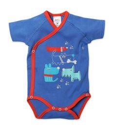Le Chien Newborn Short Sleeve Body Wrap
