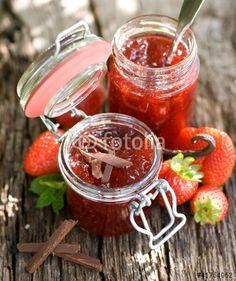 Erdbeermarmelade mit Schokolade