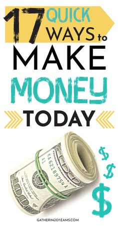 Looking for ways to make money? These are the perfect legit ideas to make money . - Make Money Online Need Money Now, Make Money Today, Make Money Fast, Make Money Blogging, Make Money From Home, Money Tips, Dave Ramsey, Earn Money Online, Online Jobs