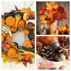 Ispirazioni Autunnali per decorare la casa ~ Da Mamma a Mamma Wreaths, Fall, Christmas, Wedding, Mamma, Home Decor, Mood, Autumn, Yule