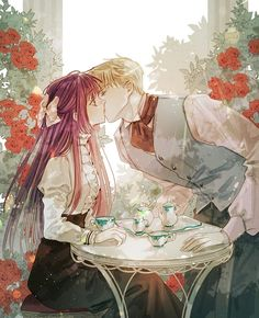 Anime Couples Drawings, Anime Couples Manga, Manga Collection, Beautiful Fantasy Art, Anime Love Couple, Manga Love, Awesome Anime, Character Drawing, Fantasy Artwork