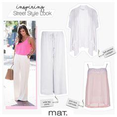 To street style που μας αρέσει και αποτελεί έμπνευση ... Αέρινη παντελόνα ea55208632a