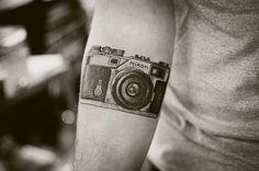camera tattoo! (Rolands first) tattoos
