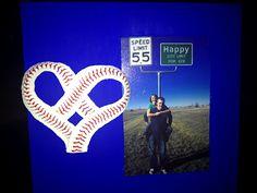 Baseball picture frame!