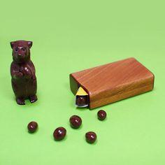 LIFE / 森永チョコボール木製ケース