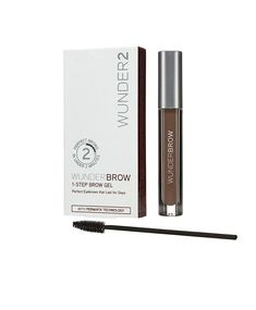46ccd6436 WUNDER2 WUNDERBROW Long Lasting Eyebrow Gel for Waterproof Eyebrow Makeup,  Brunette Color