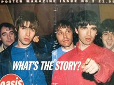 What's the story morning glory Gene Gallagher, Lennon Gallagher, Liam Gallagher Oasis, Great Bands, Cool Bands, Oasis Live Forever, Liam Oasis, Oasis Music, Musica