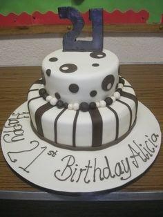 21st birthday chocolate fudge
