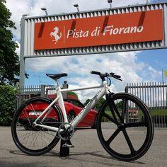 Instagram picutre by @zeroundici: Ready for the test ride? Zeroundici Italian Tour #zeroundiciontheroad #ready #spring2016 #fixie #ebike #fiorano #ferrari #bikelife #electricheart - Shop E-Bikes at ElectricBikeCity.com (Use coupon PINTEREST for 10% off!)