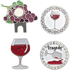 Giggle Golf  Wine Not Ball Marker Pack *** Check out this great product. Note:It is Affiliate Link to Amazon.