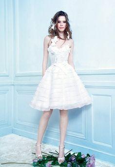 Robes de mariée : robe courte, robe mariage, robe mariee - Une robe ...