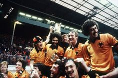 Celebrating victory over Nottingham Forest in the 1980 League Cup final at Wembley