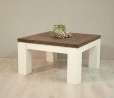 Couchtisch Beistelltisch Tisch Wohnzimmertisch Holztisch Akazie Marc Titus 80x80