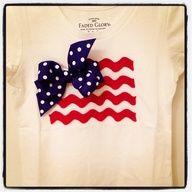 rick rack flag shirt