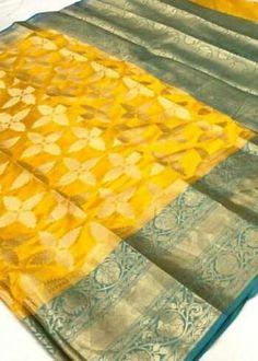 Sarees Online | Buy Sarees Online |@ ibuyfromindia.com Latest Silk Sarees, Kora Silk Sarees, Silk Sarees Online, Handloom Saree, Yellow Saree, Green Saree, Silk Sarees With Price, Work Sarees, Fancy Sarees