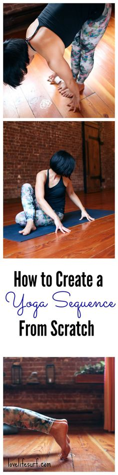 So you've been practicing yoga for a while. You're familiar with most yoga poses and want to build a home yoga practice, but you have no idea where to start. How do you create a yoga sequence from scratch? Here are simple tips to help you build a yoga sequence.