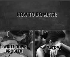 This was you in high school: | 23 Things People Who Can't Do Math Understand