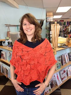 Ravelry: EmpressdesCieux's Sugar Maple Shawl - a good beginner's lace project and gorgeous in Patagonia Nature Cotton. $6 In Patagonia, Ravelry, Crochet Top, Shawl, Sugar, Patterns, Lace, Nature, Cotton