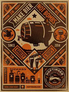 Creative Hoptinger, Beer, Illustration, Bier, and Poster image ideas & inspiration on Designspiration Vintage Graphic Design, Graphic Design Inspiration, Graphic Art, Illustration Design Graphique, Beer Label Design, Beer Poster, Identity, Illustrations Posters, Vintage Illustrations