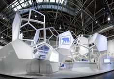 Molecule Trade Fair Stand by Wroom