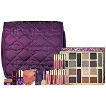 Make your own holiday memories with this chic travel bag overflowing with all your must-have beauty essentials. Inspired by the Tarte family and their favorite gifts over the years, this exclusive, rich collection features a host of limited-edition shades that are reminiscent of holidays past, as well as some of the bestselling and most iconic Tarte products. The set includes everything needed to create endless looks and timeless memories.