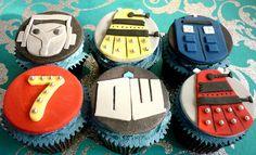 Doctor Who cupcakes by Star Bakery (Liana), via Flickr