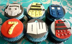 Doctor Who cupcakes by Star Bakery (Liana), via Flickr