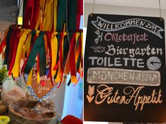 Some cute Oktoberfest decoration ideas.