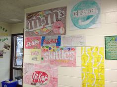 Fun way to work on scaled drawing... Fast Times of a Middle School Math Teacher: Scaling Up Candy Wrappers