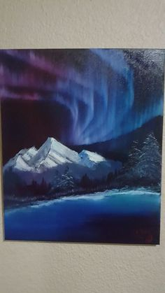 Northern Lights by @kevinv2067 #Northernlights #art