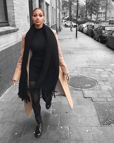 Winter Fashion Outfits, Fall Winter Outfits, Autumn Winter Fashion, Black Girl Fashion, Look Fashion, Fashion 2020, Fall Fashion, Classy Outfits, Stylish Outfits