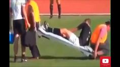 Football Stretcher Bearers Are Awesome!! Best Funny Moments on Field