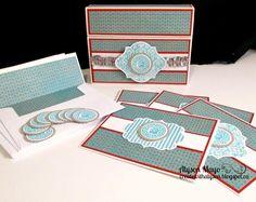 Monogrammed Card Kit (inspired by Lisa Stenz)