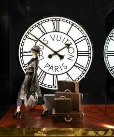 Window display for Louis Vuitton