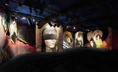 Prada's art collaboration for its S/S 2014 catwalk